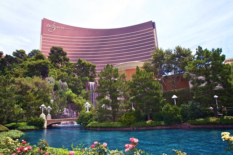 The Wynn Hotel, Las Vegas. Image: Michael Bentley, CC.