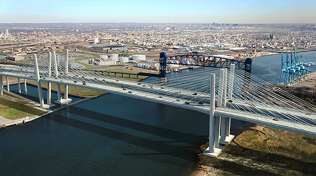 Goethals Bridge Replacement Construction Amp Gallery The