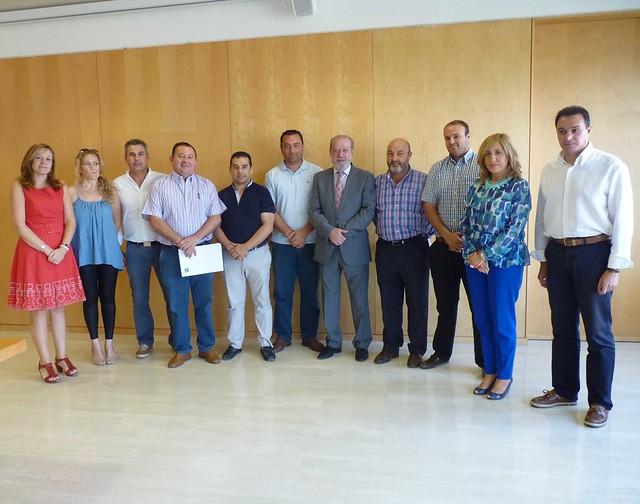 31/07/2014 Firma Convenios de Cohesión Social con Entidades Locales