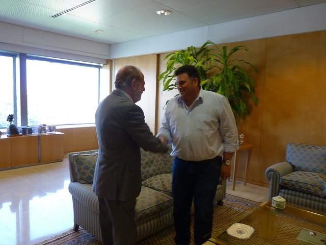30/07/2014 ENCUENTRO CON   ALCALDE  DE MORÓN DE LA FRONTERA