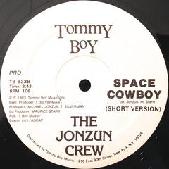 THE JONZUN CREW:SPACE COWBOY(LABEL SIDE-B)