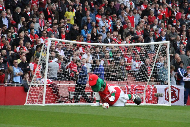 Gunnersaurus the Goalie 3