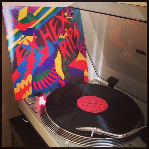 #nowspinning #exhex #rips #clubrpm #marytimony #vinyligclub #saturdaysounds #vinyloftheday #photographicplaylist #todaysoundslikethis42