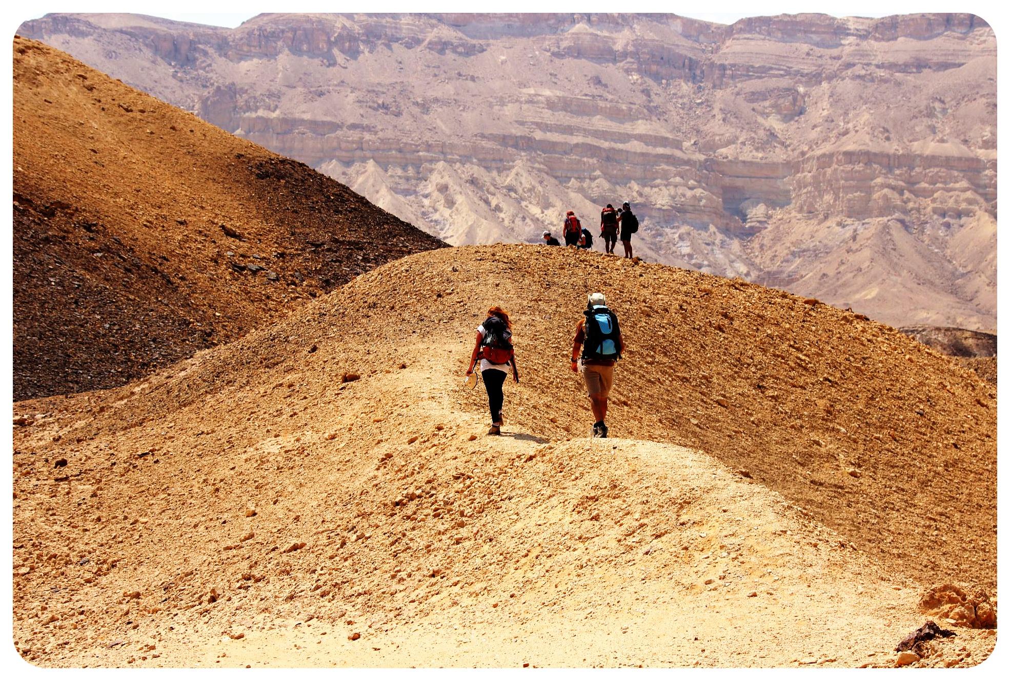 negev desert trek israel