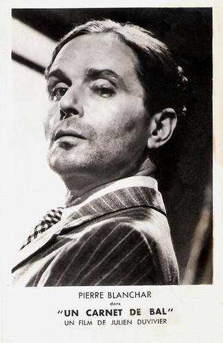 Pierre Blanchar in Un Carnet de Bal (1937)