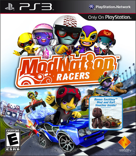 ModNation Racers with Sackboy bonus Mod | by PlayStation.Blog