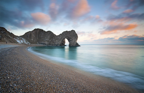 Sunset, Durdle Door | by antonyspencer