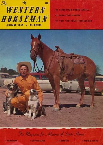 Western Horseman - August 1955 | by The Cardboard America Archives
