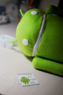 android plush bag | by ryanne { trimmed reality }