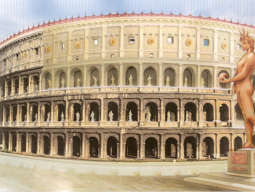 Coliseu ( cómo era)