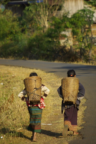The Walk Home - Northern Laos | by The Hungry Cyclist