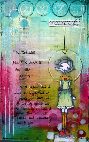 Art journal - Undomestic Goddess | by thekathrynwheel