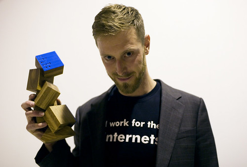 Henrik Moltke - New Media Days Award recipient 2010 | by New Media Days