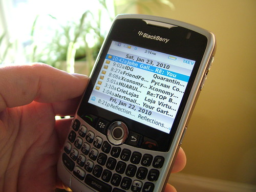 BlackBerry email on the BB 8330 | by IN 30 MINUTES Guides