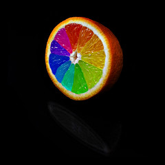 Orange color wheel | by Johan Ryden