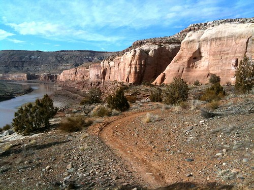 Mountain Bike Horsethief Bench, Fruita, Colorado, USA | by TRAILSOURCE.COM