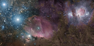 Orion Deep Wide Field | by DeepSkyColors