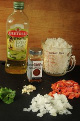 ingredients southwestern rice | by Salad in a Jar