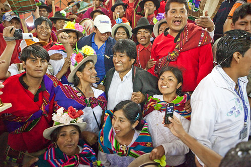 Celebration Dinner with Bolivian President Evo Morales - Colomi - Bolivia | by Kris Krug