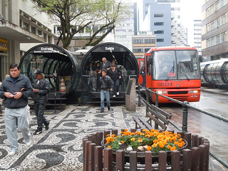 The Famous Curitiba's Public Transportation System - Curitiba, Brazil | by whl.travel