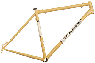 Gunnar Rock Hound Frame - 29er in Bamboo with Vanilla Shake panel | by Gunnar Cycles