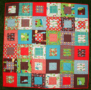Wheels Quilt Front | by Ellie@CraftSewCreate