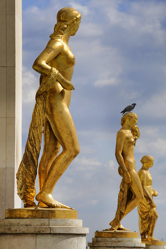 France - Paris - Trocadero Statues | by Darrell Godliman
