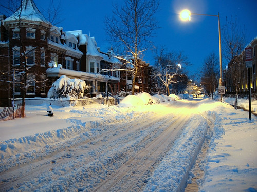 Monroe Street After Blizzard | by Mr.TinDC