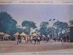 parc Jarry,Montréal, 31 juillet1937.