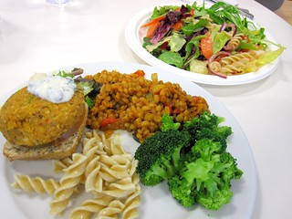 Vegan Lunch at Google | by veganbackpacker