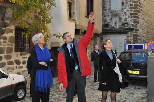 Laurent Wauquiez et Christine Lagarde en Haute-Loire