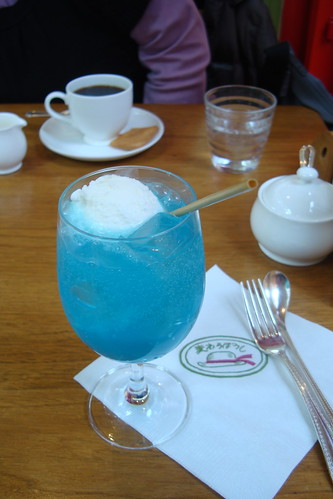 Cream soda at the Ghibli Museum cafe | by maki