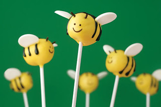 Bee Cake Pops | by Bakerella