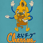 Cheesus Good Cheese (Fake Japanese Ad Characters Set)
