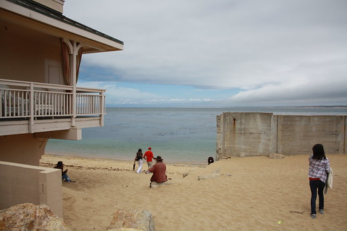 beach at Cannery Row, Monterey | by EdnaZ