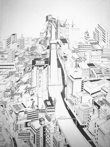Cityscape Drawing 19+ hours | by SPDP