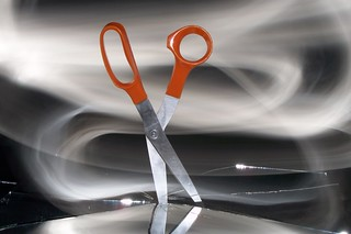 Painting scissors with light 6 | by sociotard