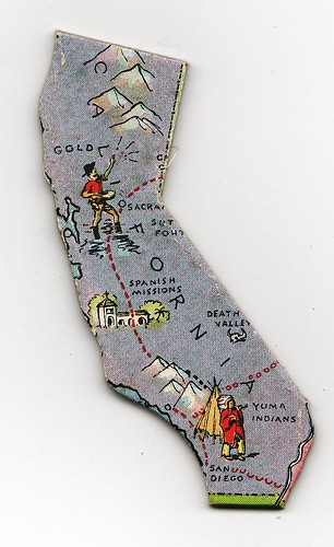 California Historical Map | by Calsidyrose