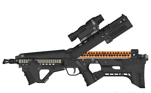 DeviantArt: More Like Hand drawn guns by Armalite