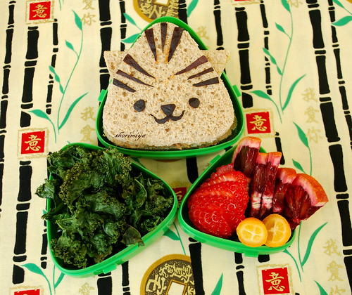 Tiger Sandwich Bento | by sherimiya ♥