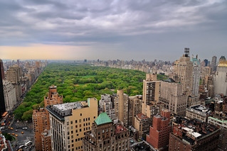 Cloudy Afternoon Over Central Park, New York City | by andrew c mace