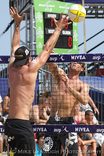 Matt Olsen - AVP Nivea Pro Beach Volleyball Tour - Virginia Beach Open - June 19, 2010 | by mikelynaugh