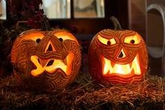 Carved pumpkin Octubre