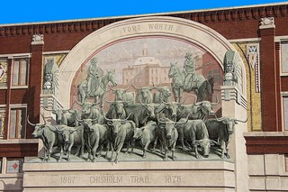 Fort Worth Chisholm Trail Mural | by Robert W. Howington