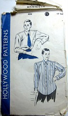 Vintage Hollywood Patterns 486 Men's Shirt | by M1khaela