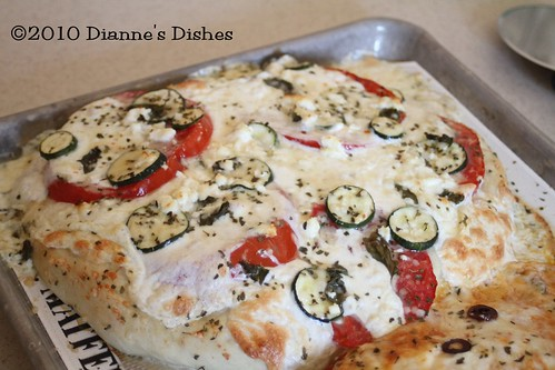 Summer Pizza | by Dianne's Dishes