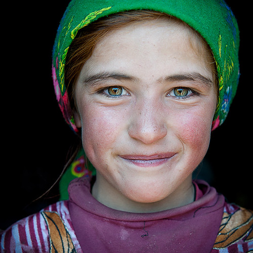 Central Asia portrait | Hijab lady | Beautifull girl | by galibert olivier