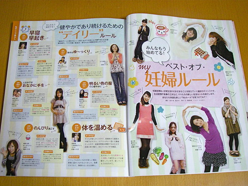 Japanese pregnancy magazine | by Blue Lotus