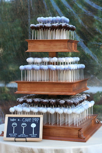 Cake Pop Wedding Cake | by Sweet Lauren Cakes
