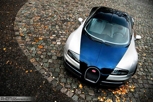 Bugatti Veyron SuperSport with autumn leaves... | by Murphy Photography